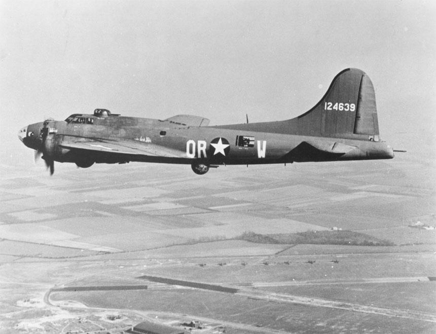 B-17 inflite #2