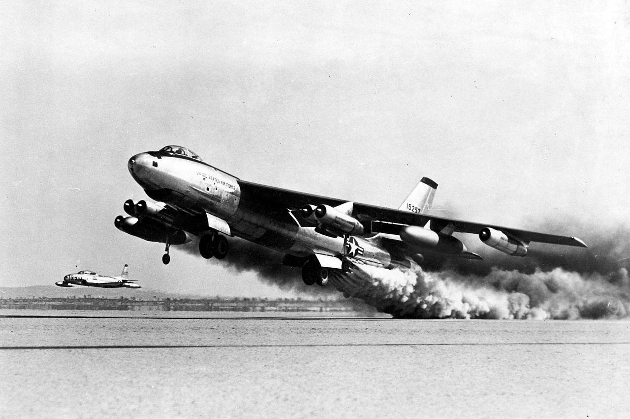 B-47 Take-Off